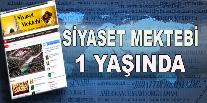 Photo of SİYASETMEKTEBİ.COM 1 YAŞINDA!