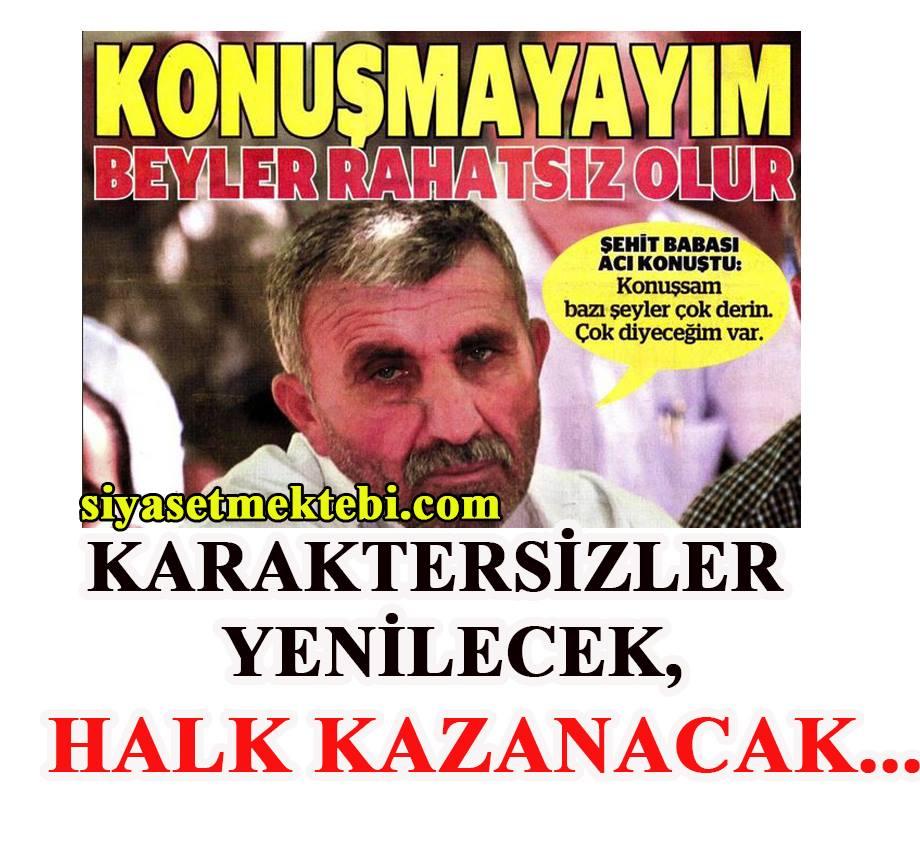 """Photo of """"KARAKTERSİZLER"""" YENİLECEK, HALK KAZANACAK…"""